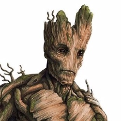 Groot - Personnage d'animation