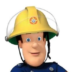 Sam le pompier - Personnage d'animation