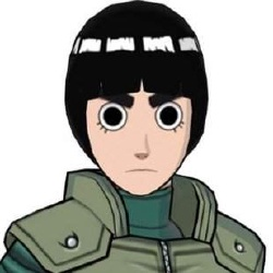 Rock Lee - Personnage d'animation