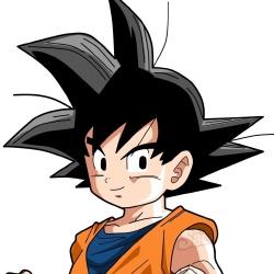 Son Goten - Personnage d'animation