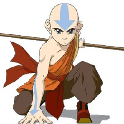 Aang - Personnage d'animation