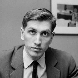 Bobby Fischer - Joueur d'échecs