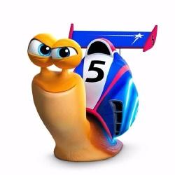 Turbo l'escargot - Personnage d'animation