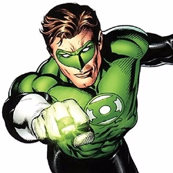 Green Lantern - Personnage d'animation