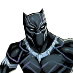 Black Panther - Personnage d'animation