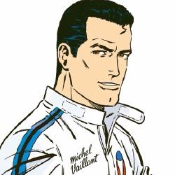 Michel Vaillant - Personnage d'animation
