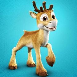 Niko le petit renne - Personnage d'animation