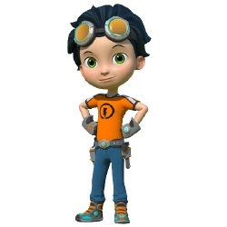 Rusty Rivets - Personnage d'animation