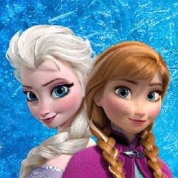 Elsa et Anna - Personnage d'animation