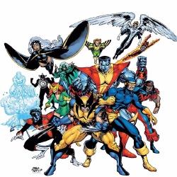 X-Men - Personnage d'animation