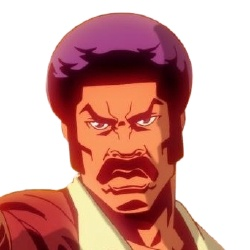 Black Dynamite - Personnage d'animation