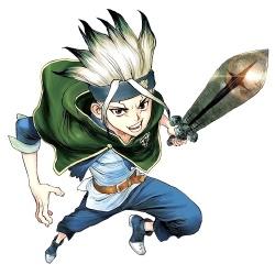 Senku Ishigami - Personnage d'animation