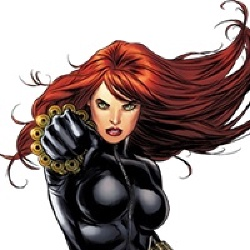 Black Widow - Personnage d'animation