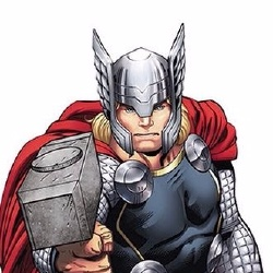 Thor - Personnage d'animation