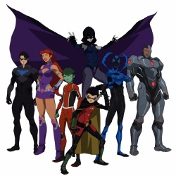 Teen Titans - Personnage d'animation