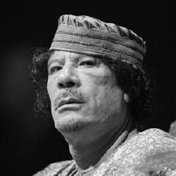 Mouammar Kadhafi - Politique