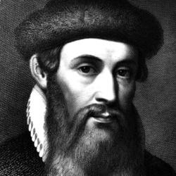 Johannes Gutenberg - Personnalité historique