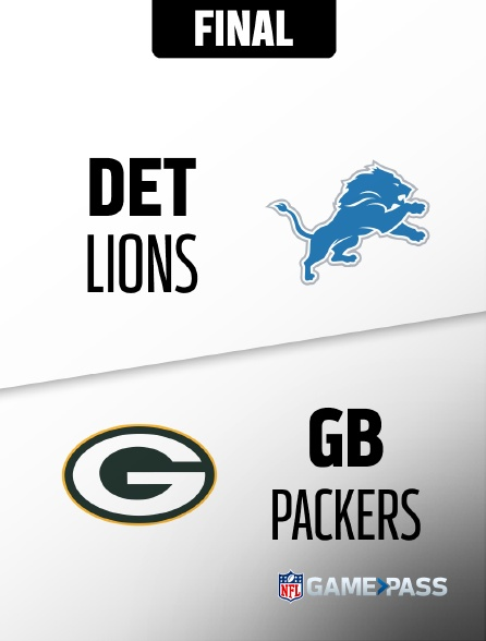 NFL 04 - Lions - Packers