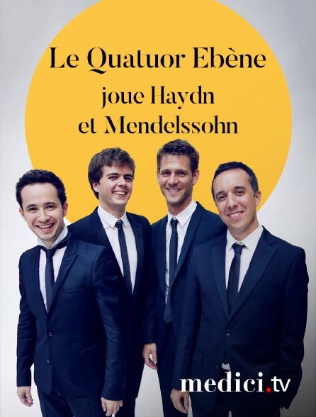 Medici - Le Quatuor Ébène joue Haydn et Mendelssohn - Verbier Festival