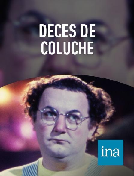 INA - Décès de Coluche