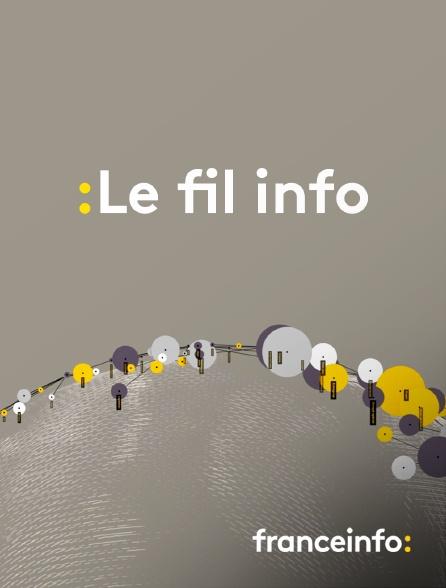 franceinfo: - Le fil info