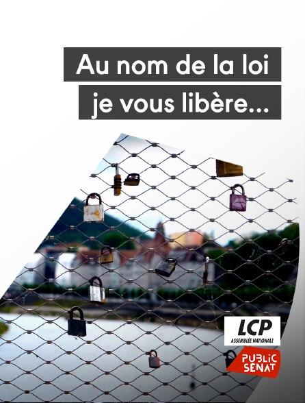 LCP Public Sénat - Au nom de la loi, je vous libère...