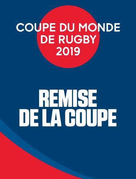 Coupe du monde de rugby 2019 - Remise de la coupe