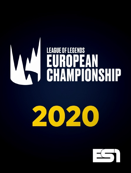 ES1 - League of Legends European Championship : été 2020