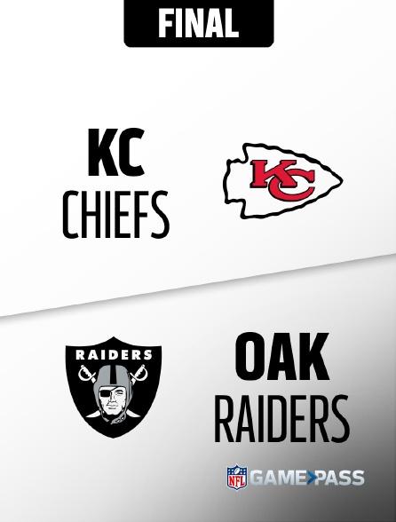 NFL 12 - Chiefs - Raiders