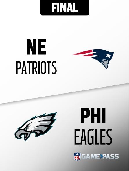 NFL 12 - Patriots - Eagles en replay