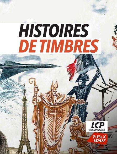 LCP Public Sénat - Histoires de timbres