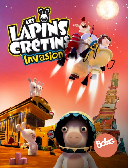 Boing - Les lapins crétins : invasion