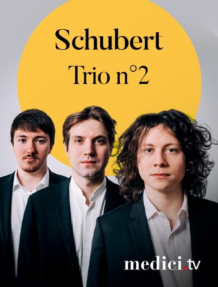 Medici - Schubert, Trio n°2 - The Messiaen Trio - Philharmonie de Paris