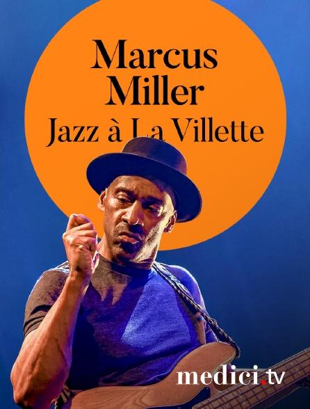 Medici - Marcus Miller en concert àJazz à La Villette