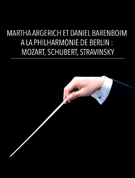 Martha Argerich et Daniel Barenboim à la Philharmonie de Berlin