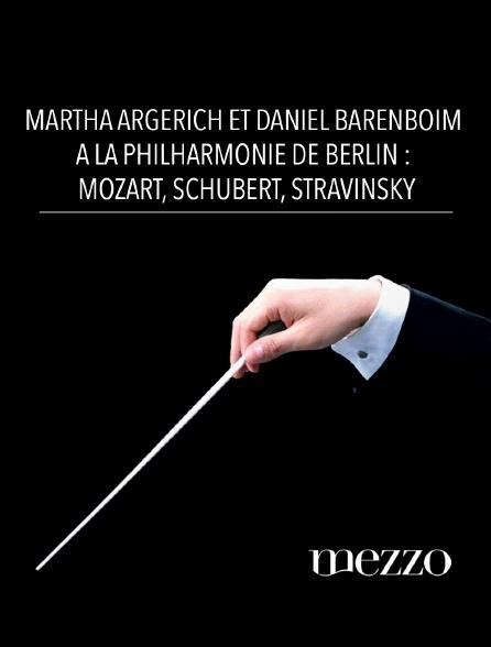 Mezzo - Martha Argerich et Daniel Barenboim à la Philharmonie de Berlin