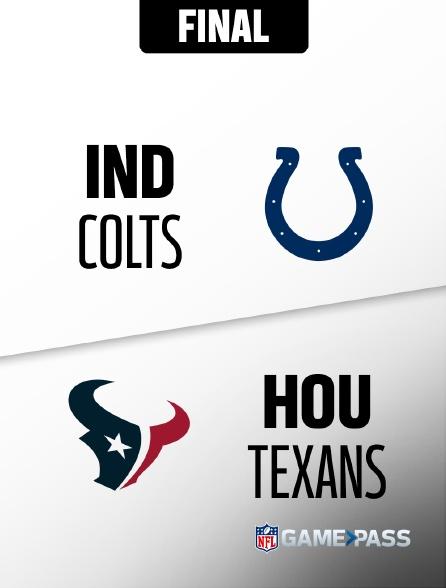 NFL 1 - Colts - Texans en replay