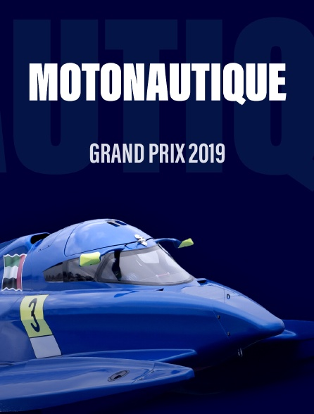 Grand Prix motonautique 2019