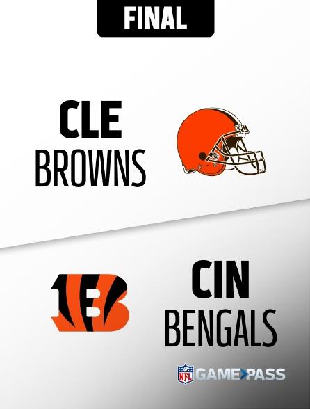 NFL 04 - Browns - Bengals en replay