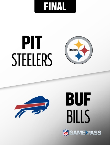 NFL 15 - Steelers - Bills en replay