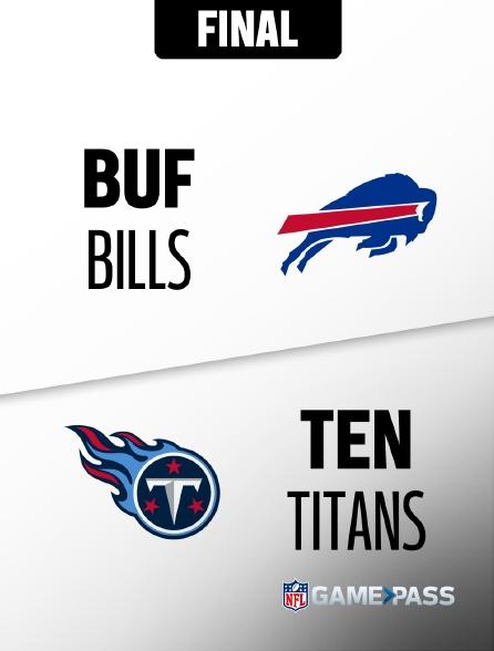 NFL 10 - Bills - Titans