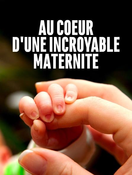 Au coeur d'une incroyable maternité