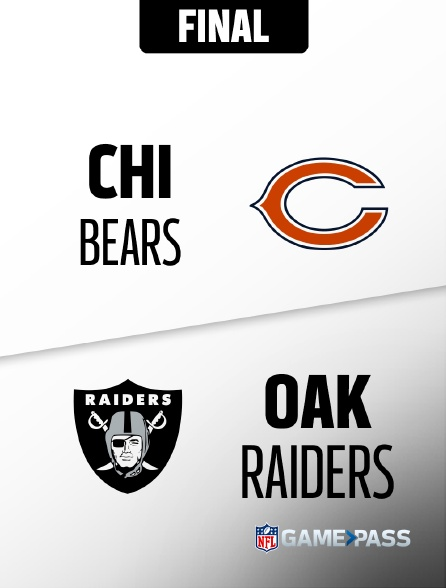 NFL 07 - Bears - Raiders