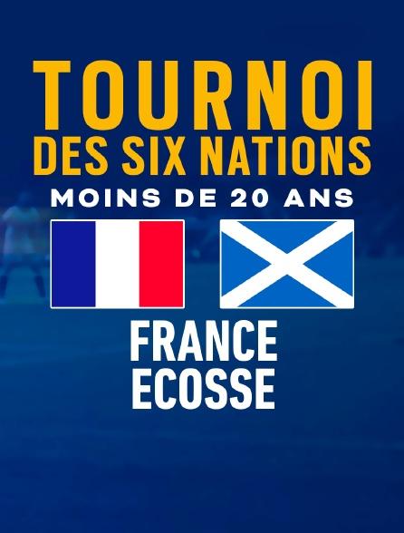 Rugby : Tournoi des VI Nations U20 : France / Ecosse