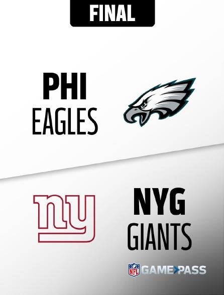 NFL 12 - Eagles - Giants