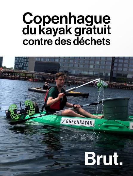 Brut - Copenhague : du kayak gratuit contre des déchets