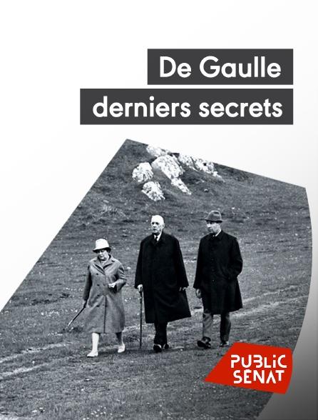Public Sénat - De Gaulle, derniers secrets