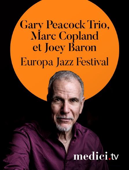 Medici - Gary Peacock Trio, Marc Copland et Joey Baron en concert à l'Europa Jazz Festival