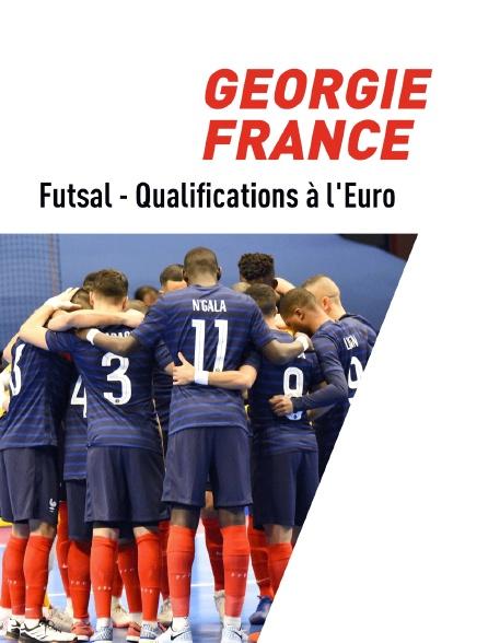 Qualifications à l'Euro  de Futsal : Géorgie / France