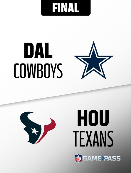 NFL 10 - Cowboys - Texans